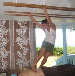 Ashiatsu in Hawaii 3